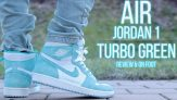 Đánh giá thiết kế của Nike Jordan 1 Turbo Green
